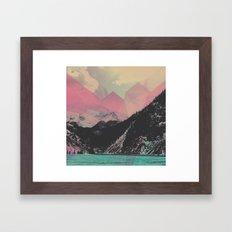 Crystal Pass Framed Art Print