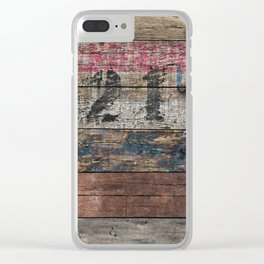 Day In Day Out Clear iPhone Case