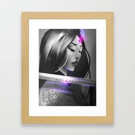 Kusanagi Framed Art Print