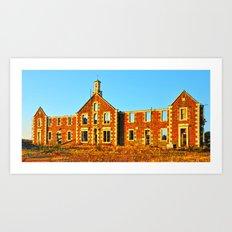 Ravenspark Hospital  Art Print