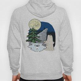 Vintage Wolf T-shirt Hoody