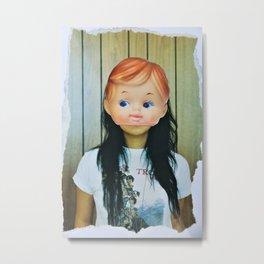 Kewpie Girl Metal Print