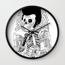 Dead Famous - Elvis Wall Clock