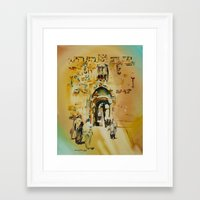 israel Framed Art Prints featuring Israel 4 by CarolBoerckel