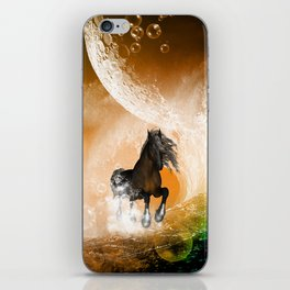 Running horse iPhone Skin