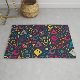 Colourful pattern Rug