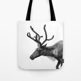 Animal Photography   Reindeer Minimalism   Antlers Christmas   Rudolf Tote Bag