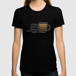 Morning coffee meter T-shirt
