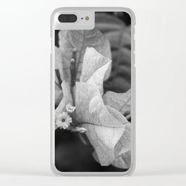 Time's Eye Clear iPhone Case