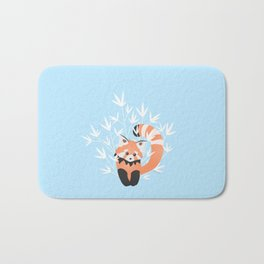 Baby Red Panda / Sky Bath Mat
