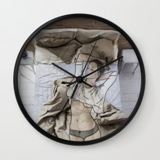 A day in bed Wall Clock