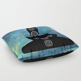 Sacred Geometry - Chakras Aligned Floor Pillow