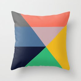 Mid Century Modern Vintage 11 Throw Pillow