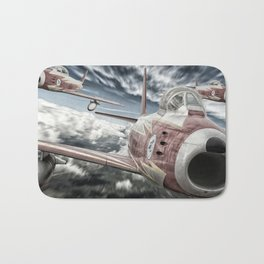 ASCUA aerobatic team Bath Mat