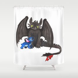 Critter Collision Shower Curtain
