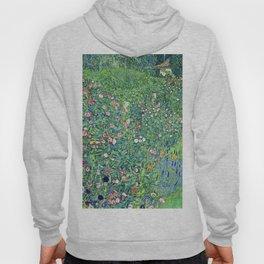 Gustav Klimt Italian Garden Hoody
