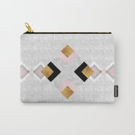 Rhombus geometric Carry-All Pouch
