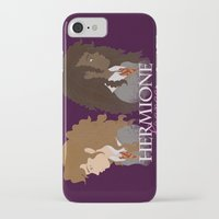 hermione iPhone & iPod Cases featuring Hermione Granger by HappyQiwi