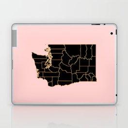 Washington map Laptop & iPad Skin