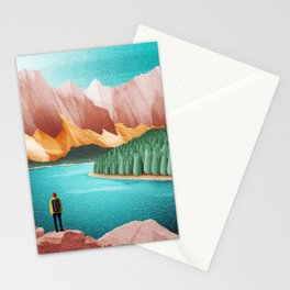 DREAM VACATION / Alberta, Canada Stationery Cards