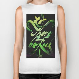 Let There Be Rock Biker Tank