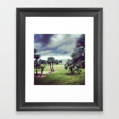 Gray Wind Framed Art Print