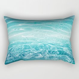 Blue Ocean Dream #1 #water #decor #art #society6 Rectangular Pillow