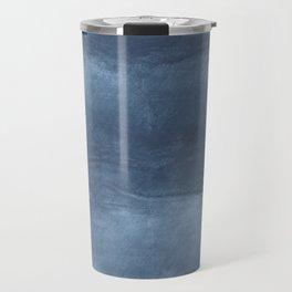 Dark blue cloud Travel Mug