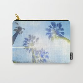 Faded Palms Carry-All Pouch