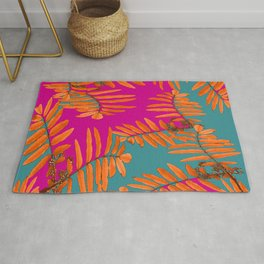 Leaves In Autumn Colors #decor #society6 #buyart Rug
