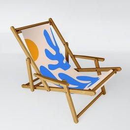 Henri Matisse - Leaves - Blue Sling Chair