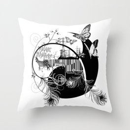 counterbalance Throw Pillow