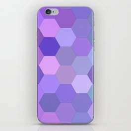 Pretty purpleness iPhone Skin
