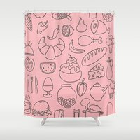 chef Shower Curtains featuring Master Chef by Kathrene