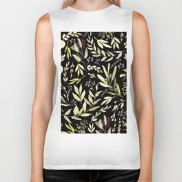Eucalyptus in Autumn Biker Tank