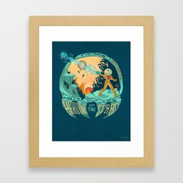 In Super Troidicolor Framed Art Print