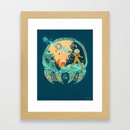 In Super Troidicolor Framed Art Print