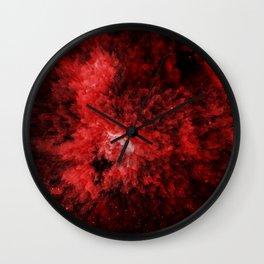 Enana roja Wall Clock