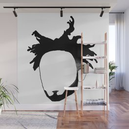 Amine Outline Wall Mural