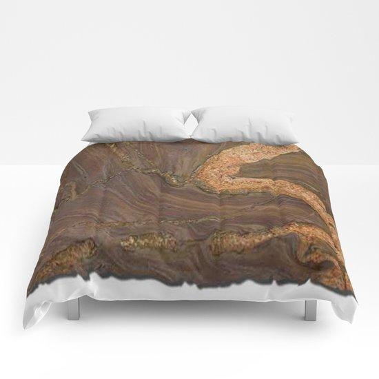 Kilimanjaro Marble Comforters