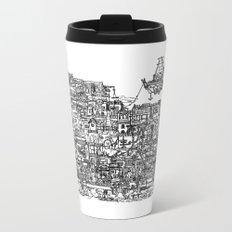 Busy City IV Metal Travel Mug