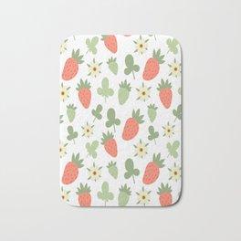 Stawberry Pattern Bath Mat