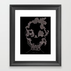 Masque de l'Air (Air Mask) Framed Art Print