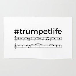 #trumpetlife Rug