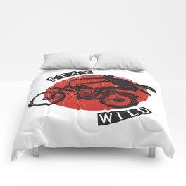 Stay Wild Comforters