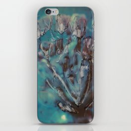 Instant Flowers iPhone Skin