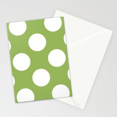 Greenery with spots Stationery Cards
