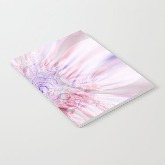 Soft Layers Pink Notebook