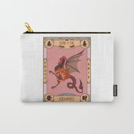 Year of the Cockatrice (Baba Nyonya) Carry-All Pouch