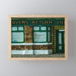 Rovers Return, Coronation Street in Miniature Framed Mini Art Print